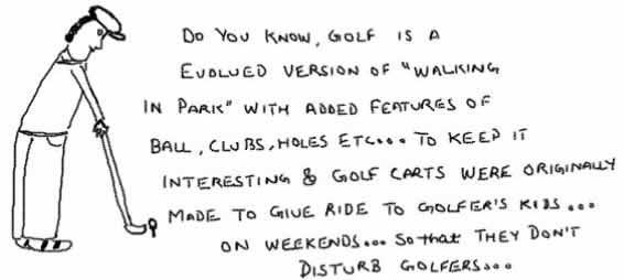 Origin ofGolf, Sports, Golfer, Tiger Woods, Funny, Insane, Humor