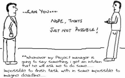Just Not Possible,office,work,project manager,insane