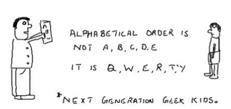 New AlphabeticalOrder,qwerty,geeks