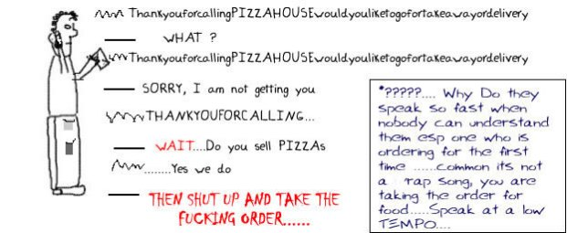 Ordering aPizza, Dominos, Pizza Hut, Express Delivery, Funny, Humor