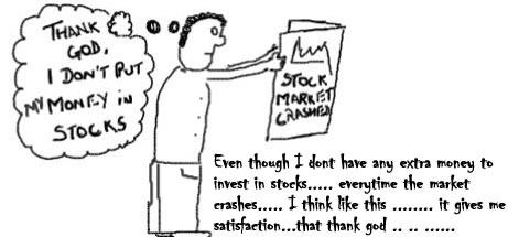 Stock Market Crashed, Sensex, nifty, funny, webcomics
