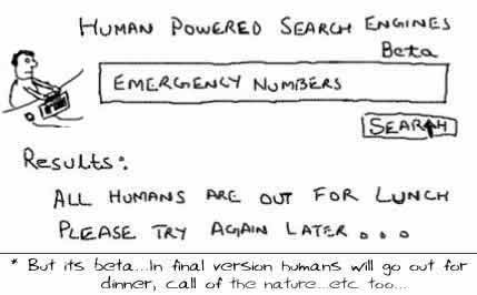 Human Powered Search,mahalo,dmoz,open directory,volunteers,internet,webcomics