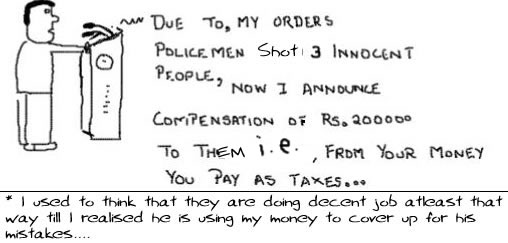 My Mistakes yourmoney, Politicians, compensation, decisions