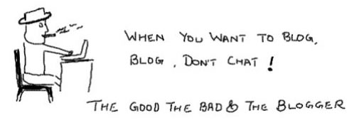 The Good The bad and theugly Blogger,blogs, web 2.0, blogging, clint eastwood, movie quotes