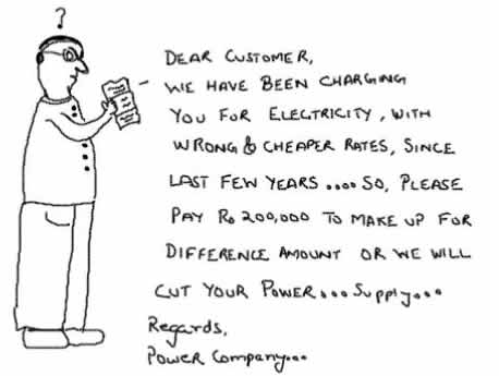 With Love from Powercompany,electricity cheap rates,amenities,jokes,toons