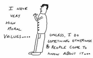 MoralValues,stupid insane cartoon comic,lifestyle,brain is stuck
