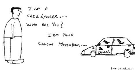Lancer,FreeLancer, Mitsibushi Lancer, Lancer Cousins