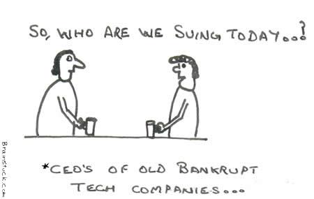Bankrupt CEOs of Technology Companies,Patents,Codes,infringement,Suits