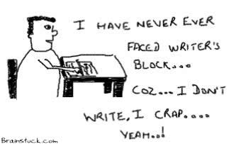 Writer's Block,I Crap,Insane,Stupid,Comics