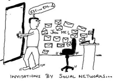 Invitation by Social Networks,Yahoo Mash,Orkut,Facebook,Jaxtr,friendster,plaxo