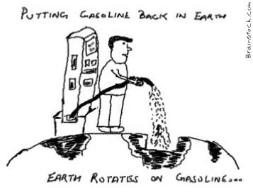 Restoring Natural Resources,Gasoline,Earth,Rotation