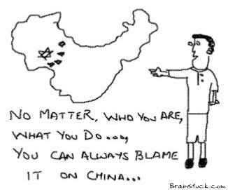 Blame it on China,Quality,Fault,Recalling,Poor service,Manufacturing,Inconsistency,Corporate Marketing gimmick,Outsourcing,Offshore,Overseas