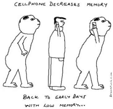 Cellphones make you early man,Cranium Capacity, Microwaves Brain cancer tumor,GSM waves,radiation,effects