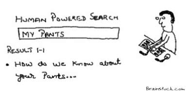 My Pants,Human Powered search,User submitted,mohalo,dmoz