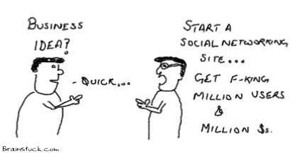 Social Networking Idea, Social networks, Website,Web 2.0, Social Invitations, Million Users Hits, IT Bubble