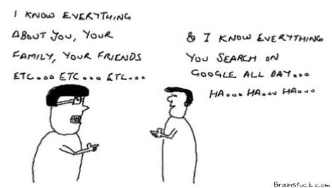 I know everything, Search of Google,Privacy, Net Identity