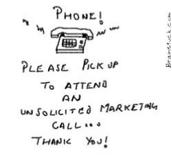 Unsolicited Tele-marketing call,Phone,Unsolicited calls,Marketing,Do Not call,