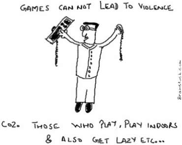 video games cannot lead to violence,Games,PC Games, Violence, Nerds,Gamers,geeks,