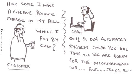 Automation,Computerized System,Fleecing users,Fraud,Scams,Credit Cards,Phone bills,ICICI Bank,Vodafone,Charges,Cheque Bounce