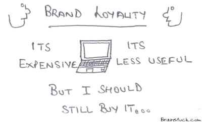 Brand Loyalty,Buying expensive stuff of your favorite brands,Whatever