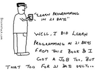 Learn Programming in 21 days and get a job too but for 21 days only