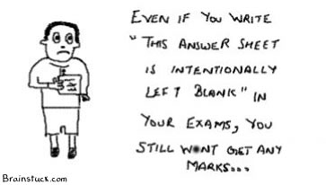 This answer sheet is intentionally left blank in examination