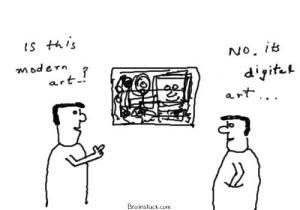 Is this modern art, no i think its digital art,cartoon,cartoons on tablet pcs,Toshiba M700