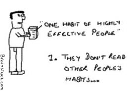 One habit of Highly effective people,7 habits,Book self help