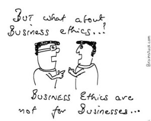Business ethics for publicity,Hoax,