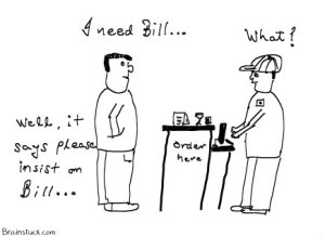 Please insist on bill or take order free, India retail notices, toons