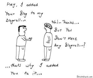 No Blogroll