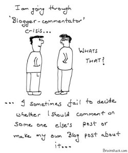 Blogger Commentator/Commenter crisis Blogging Commenting