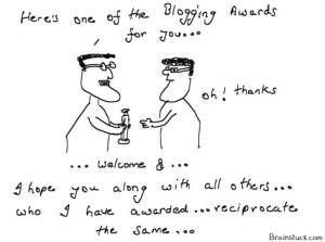 Story behind blogging awards, How to get a blogging award