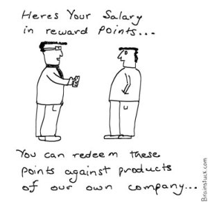 Salary Reward Points,Salaries in recession