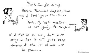 Morale Technical Support