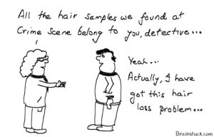 CSI Crime Scene Investigation - Hair Samples