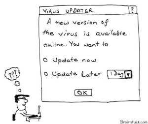 Virus Updater - A new version is available online