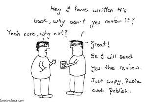 How to get your book reviewed. Copy Paste and publish