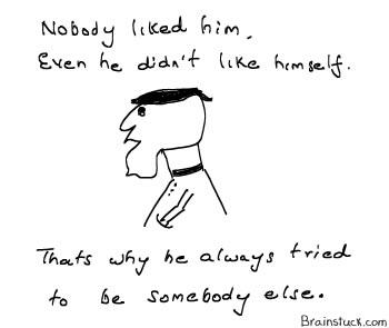 Identity Crisis - No one likes him