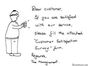 Customer Satisfaction Survey Form - Consumer Behaviour