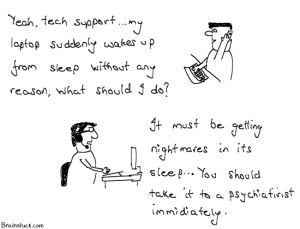 Laptop wakes up from sleep - Vista Sleeping Issues - Cartoons,OS,Computer,Technolgy, Microsoft Windows