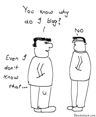Who do you blog ?