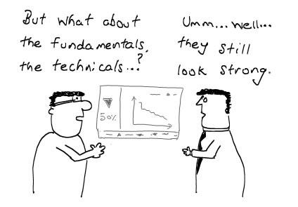 Stock Market's Fundamentals and Technicals - Manipulations, Stock Brokers, Money Cartoons