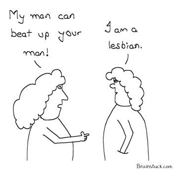 Homosexual vs. Hetrosexuals, Insane Cartoon, webcomic