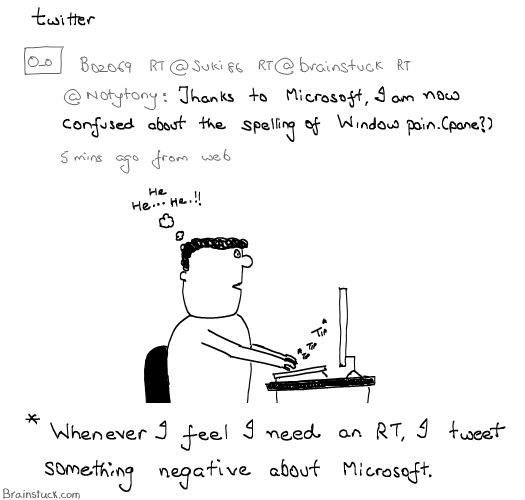 Twitter Cartoon, Social Media, Microsoft, OS, Software, Conversations, Fame, Webcomic