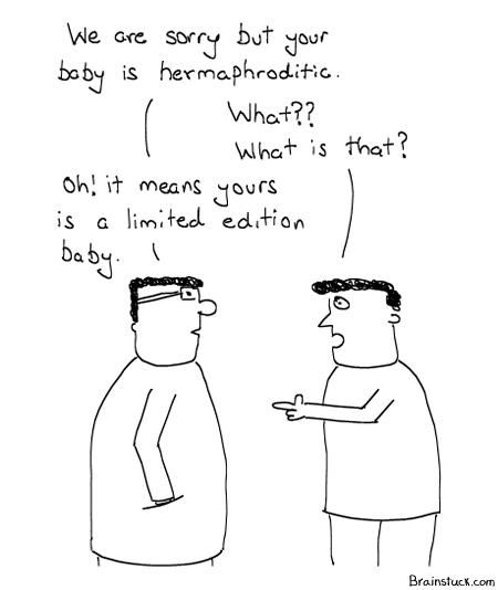 Hermaphroditic, Eunuch, Baby Marketing, Doctors, Shit toon