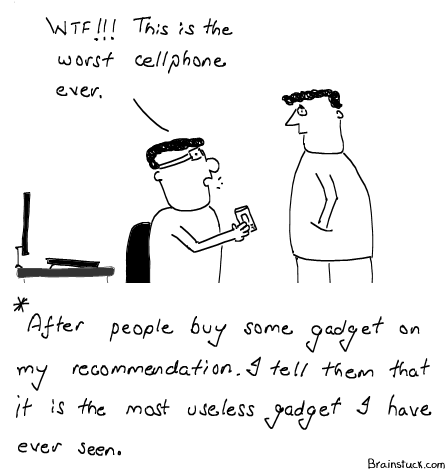Gadget Recommendation, Mobile Phones, Useless, Utility, Fun