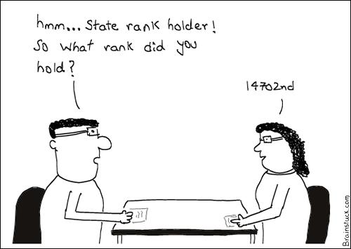 State Rank, Rank Holder, Smart, Interview, Job, Resume