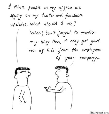 Blogs, Bloggers, Readers, Traffic, comics, cartoons, People, conversations