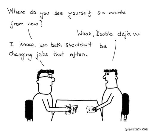 Human Resource, HR, Organization, Déjà vu, Employer, Employee, Shit Comic, Cartoons, Webcomic, India